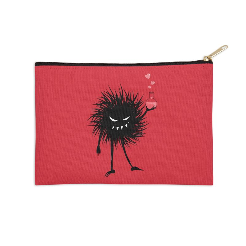 Evil Bug Chemist With Love Potion Accessories Zip Pouch by Boriana's Artist Shop