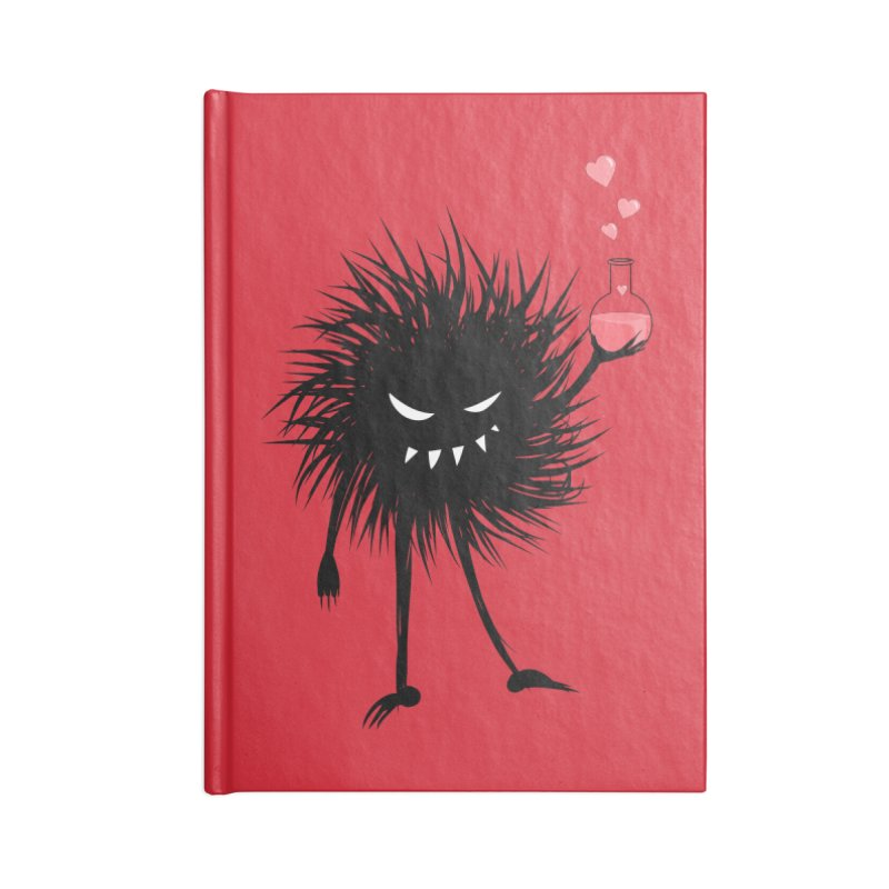Evil Bug Chemist With Love Potion Accessories Notebook by Boriana's Artist Shop