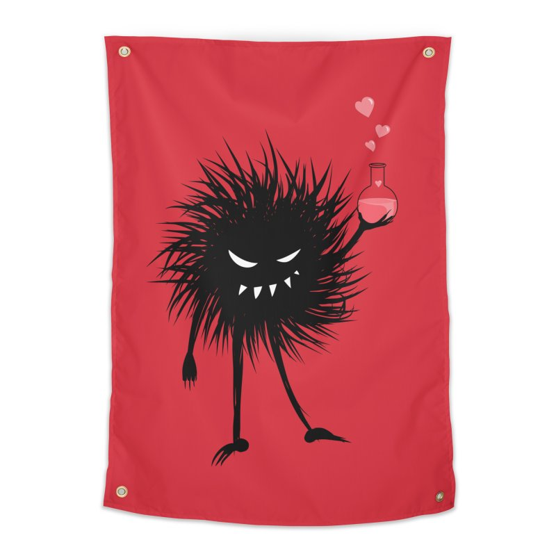 Evil Bug Chemist With Love Potion Home Tapestry by Boriana's Artist Shop