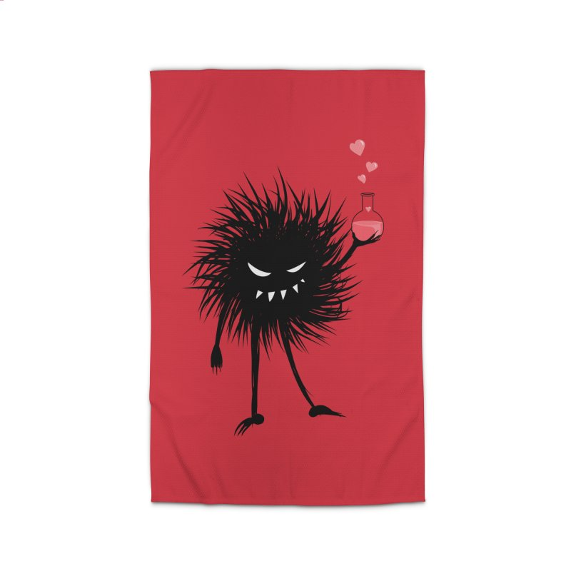 Evil Bug Chemist With Love Potion Home Rug by Boriana's Artist Shop