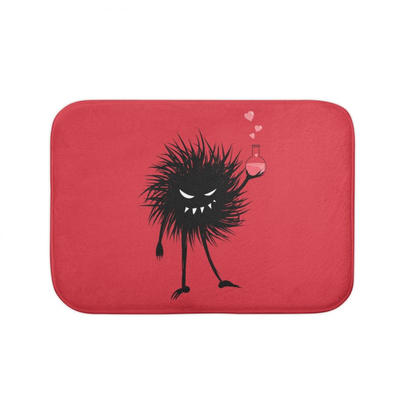 Evil Bug Chemist With Love Potion Home Bath Mat by Boriana's Artist Shop