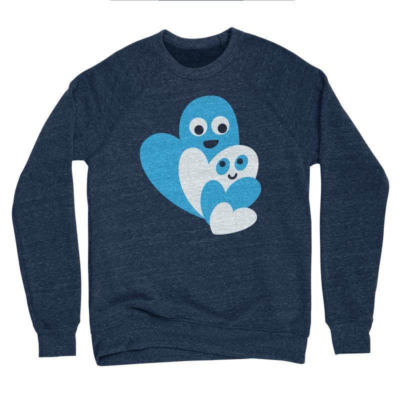 Cute Family Of Happy Hearts Women's Sponge Fleece Sweatshirt by Boriana's Artist Shop