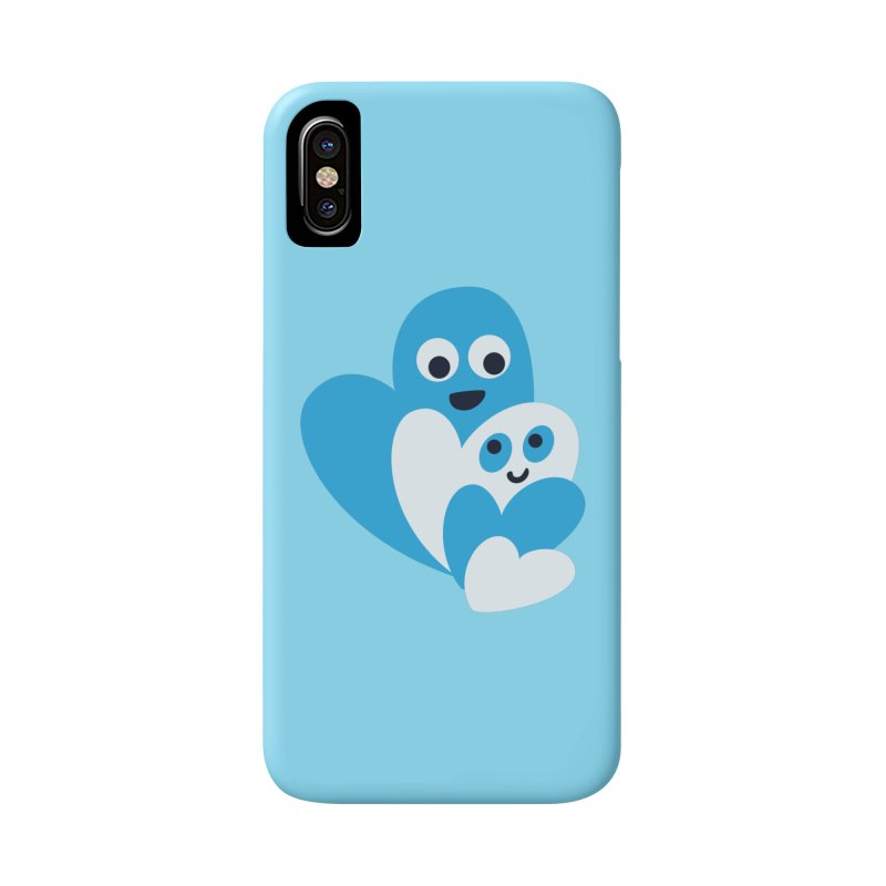 Cute Family Of Happy Hearts Accessories Phone Case by Boriana's Artist Shop