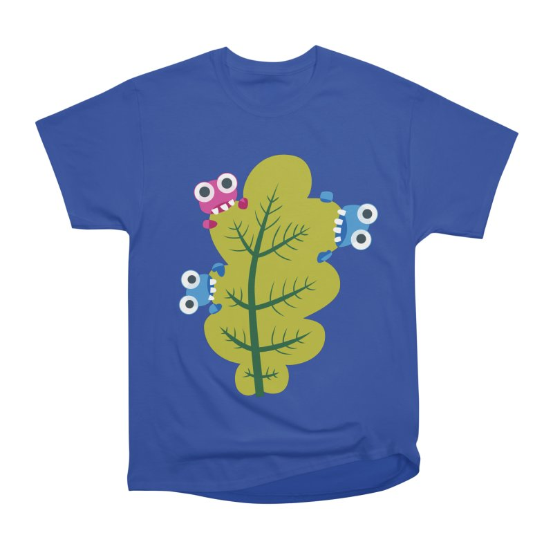 Cute Green Leaf Eaters Men's  by Boriana's Artist Shop
