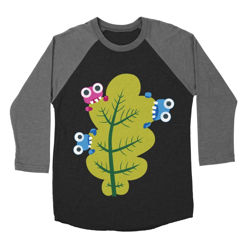 Cute Green Leaf Eaters Women's  by Boriana's Artist Shop
