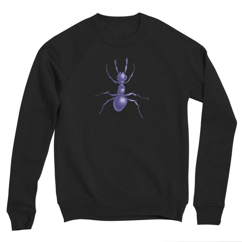 Purple Ant Digital Drawing Men's Sponge Fleece Sweatshirt by Boriana's Artist Shop