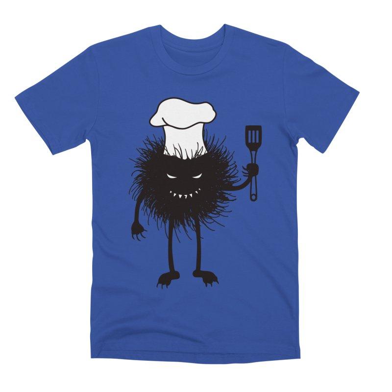 Evil bug chef loves cooking Men's Premium T-Shirt by Boriana's Artist Shop