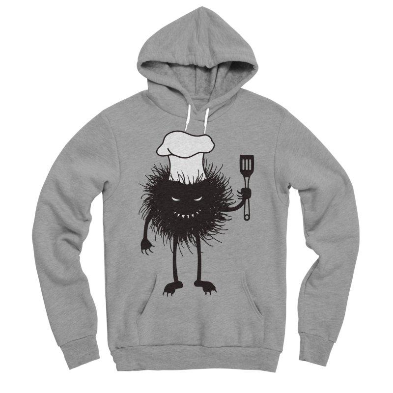 Evil bug chef loves cooking Women's Sponge Fleece Pullover Hoody by Boriana's Artist Shop