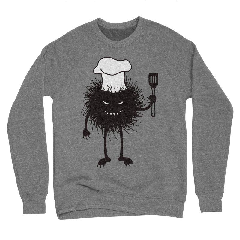 Evil bug chef loves cooking Women's Sponge Fleece Sweatshirt by Boriana's Artist Shop