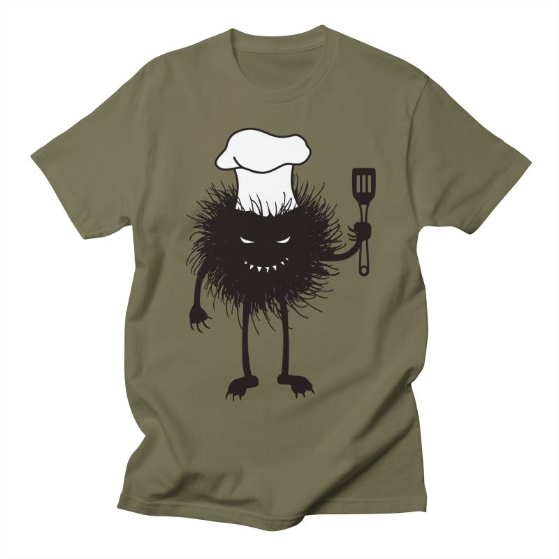 Evil bug chef loves cooking Women's Regular Unisex T-Shirt by Boriana's Artist Shop