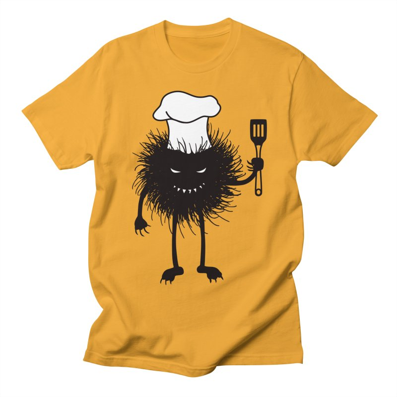 Evil bug chef loves cooking Men's  by Boriana's Artist Shop