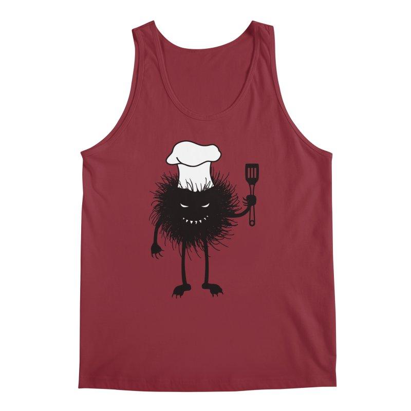 Evil bug chef loves cooking Men's Regular Tank by Boriana's Artist Shop