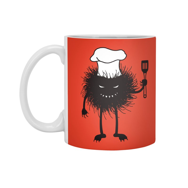 Evil bug chef loves cooking Accessories Standard Mug by Boriana's Artist Shop