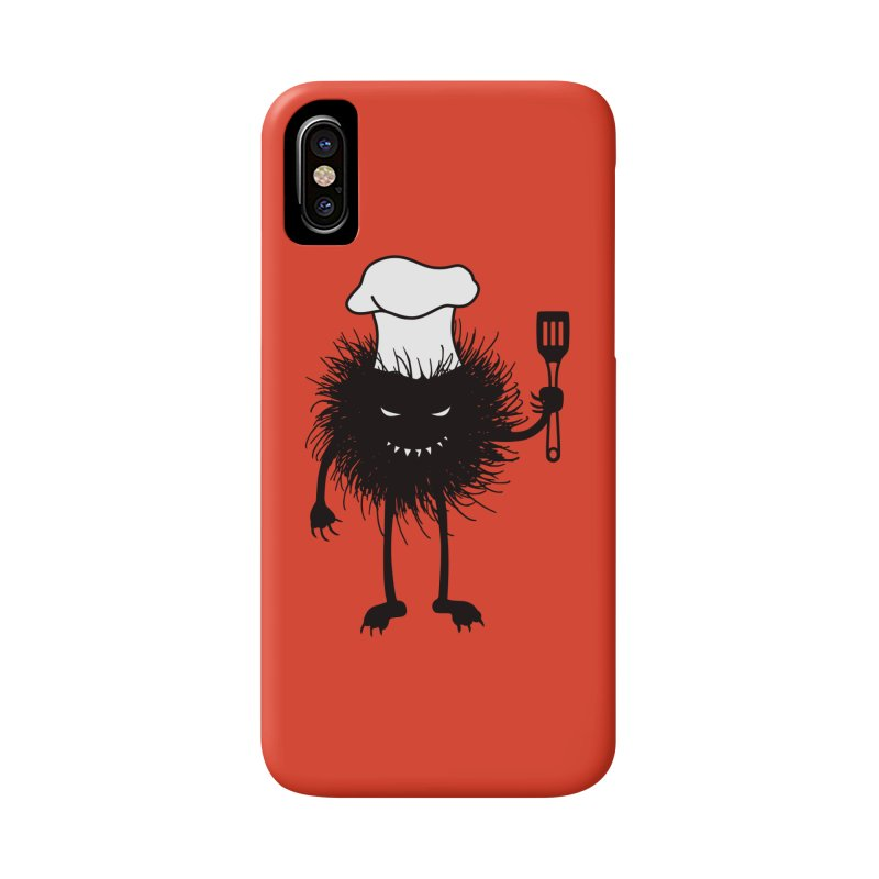 Evil bug chef loves cooking Accessories Phone Case by Boriana's Artist Shop