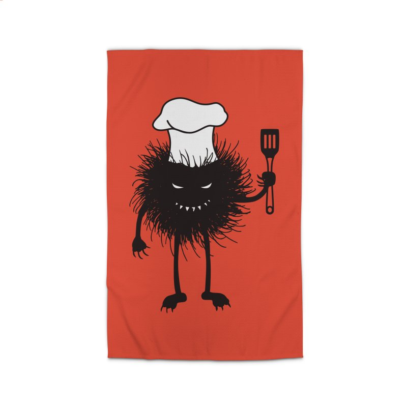 Evil bug chef loves cooking Home Rug by Boriana's Artist Shop