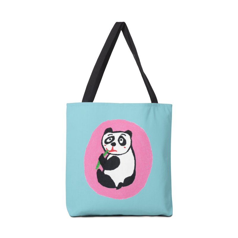 Are you hungry too? in Tote Bag by Boris Lee Illustration