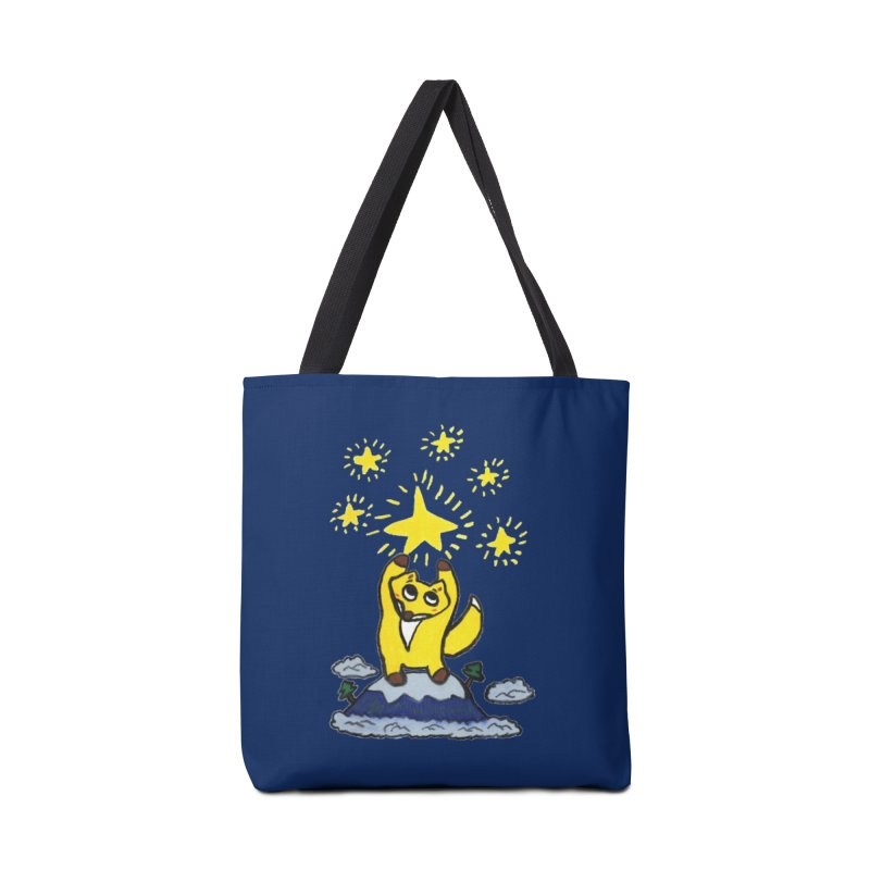Reach for the stars. Accessories Bag by Boris Lee Illustration