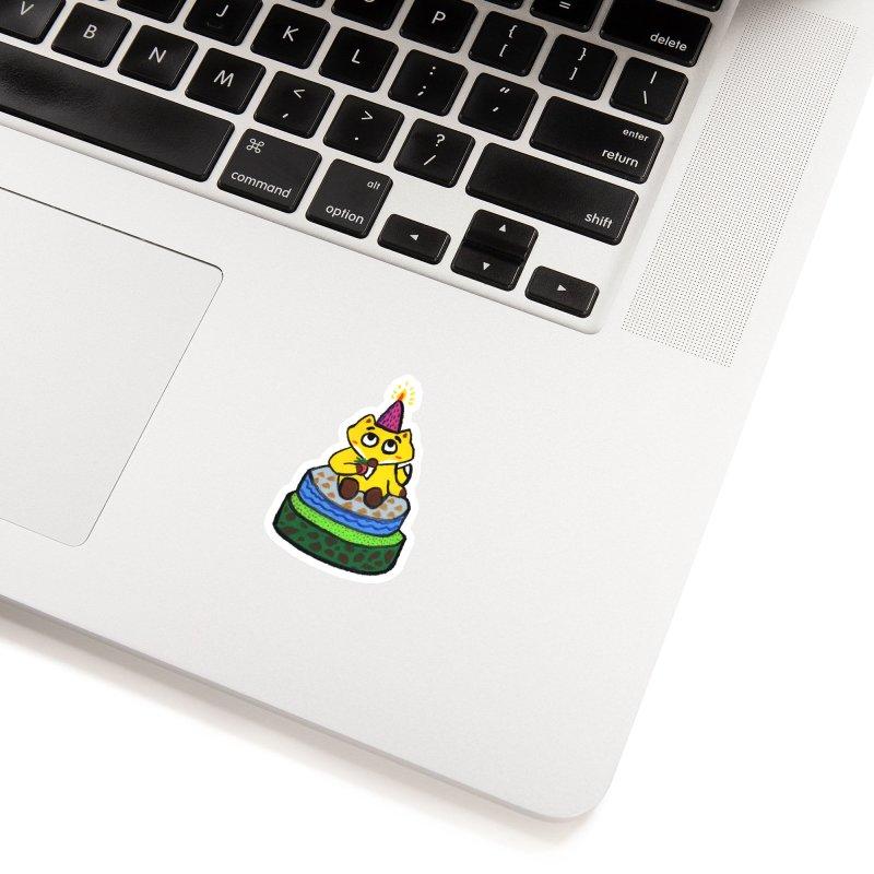 Happy Birthday! Accessories Sticker by Boris Lee Illustration