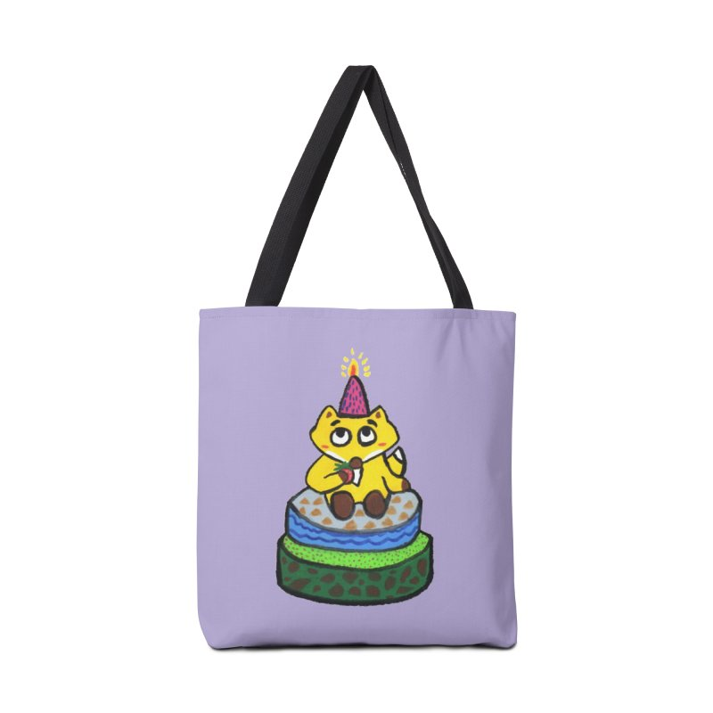 Happy Birthday! Accessories Bag by Boris Lee Illustration