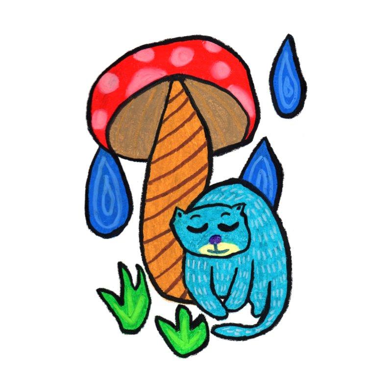 My umbrella. Accessories Bag by Boris Lee Illustration
