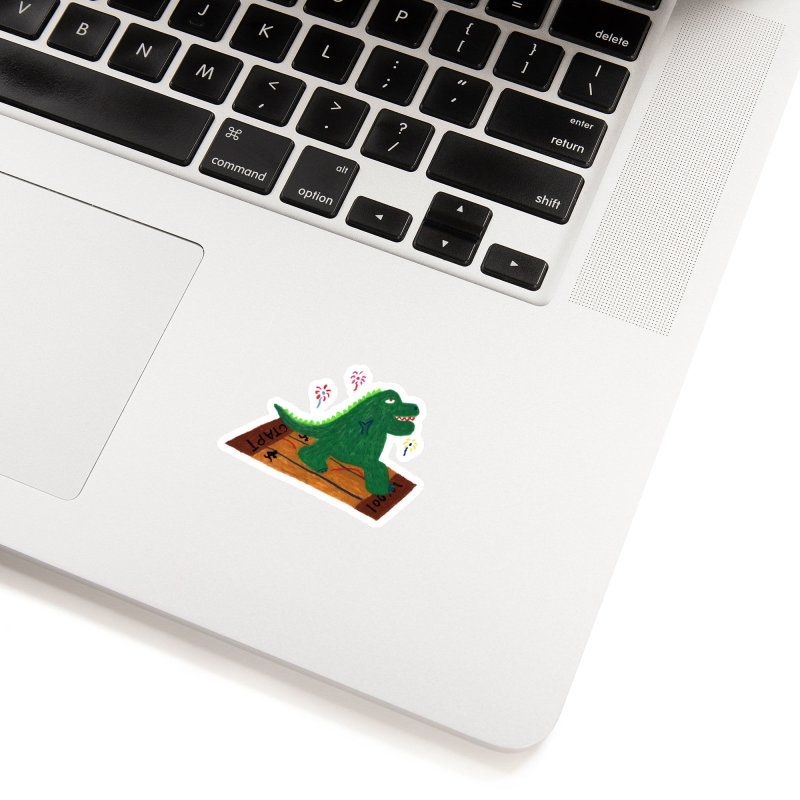 An easy game. Accessories Sticker by Boris Lee Illustration