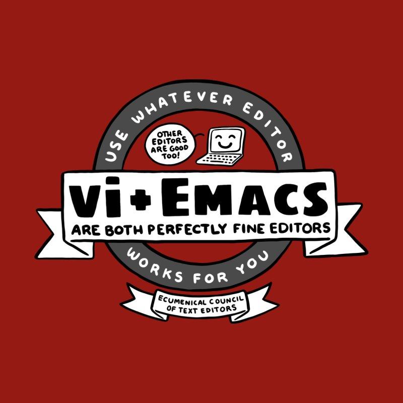 Text Editor Ecumenism Men's T-Shirt by Borja's T-Shirts