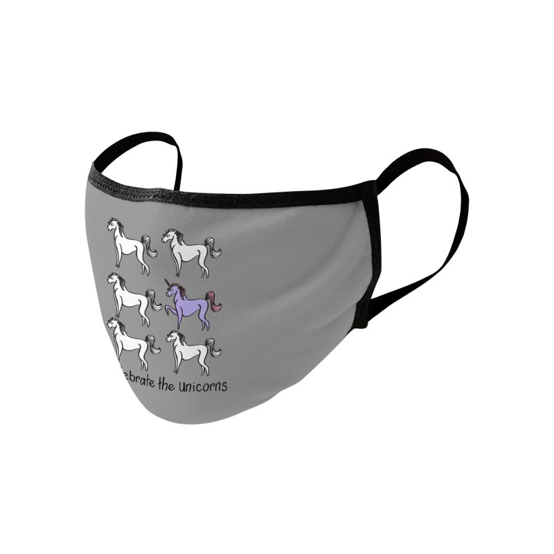 Celebrate the Unicorns Accessories Face Mask by bornjustright's Artist Shop