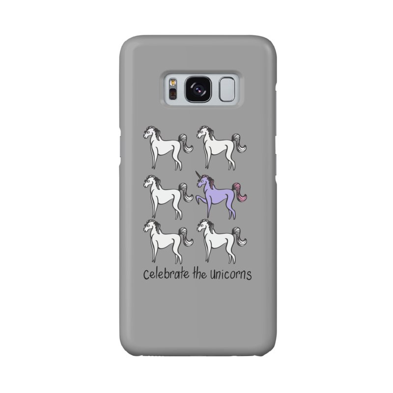 Celebrate the Unicorns Accessories Phone Case by bornjustright's Artist Shop