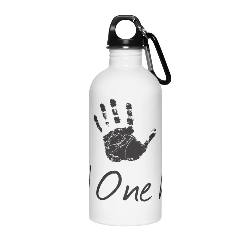 Yup! One Hand. Accessories Water Bottle by bornjustright's Artist Shop