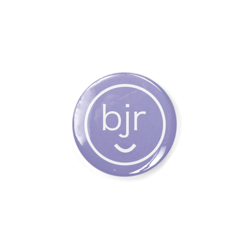 BJR logo Accessories Button by bornjustright's Artist Shop