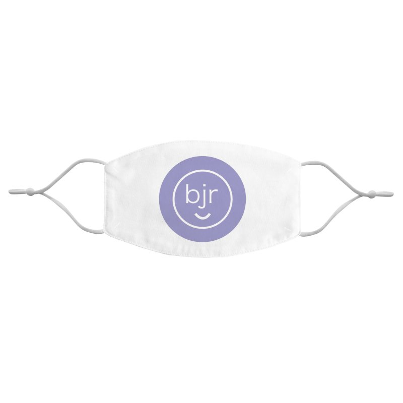 BJR logo Accessories Face Mask by bornjustright's Artist Shop