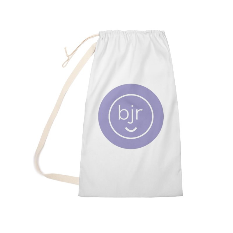 BJR logo Accessories Bag by bornjustright's Artist Shop
