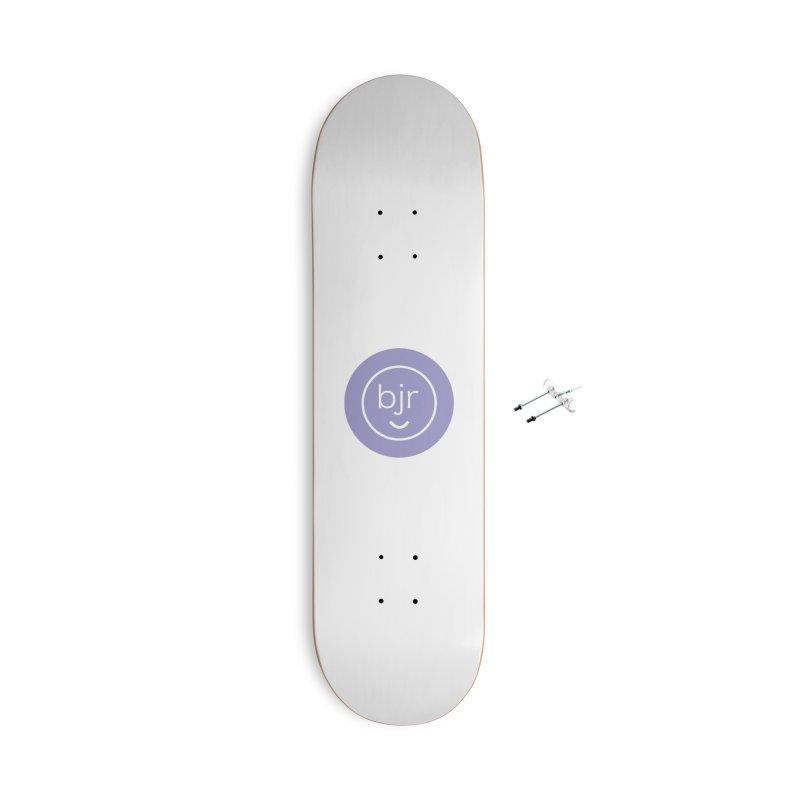 BJR logo Accessories Skateboard by bornjustright's Artist Shop