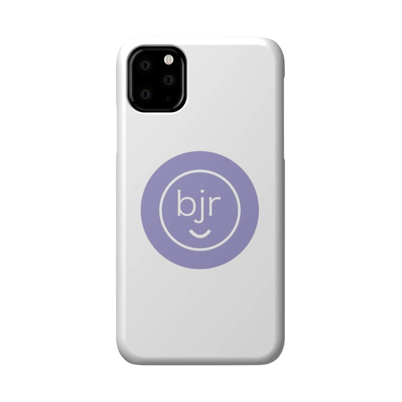 BJR logo Accessories Phone Case by bornjustright's Artist Shop