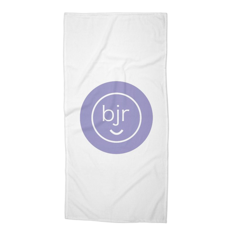 BJR logo Accessories Beach Towel by bornjustright's Artist Shop
