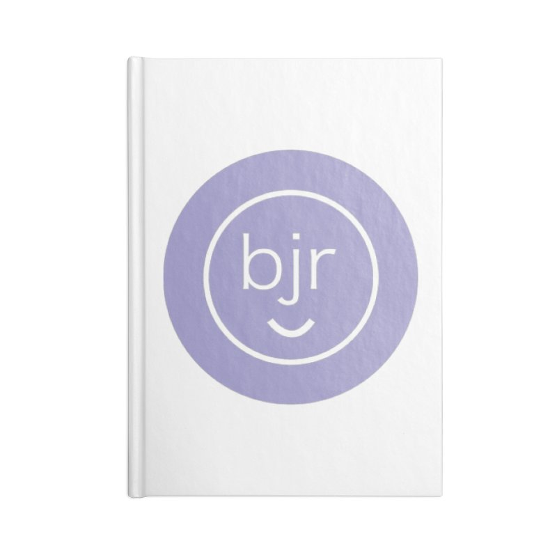 BJR logo Accessories Lined Journal Notebook by bornjustright's Artist Shop