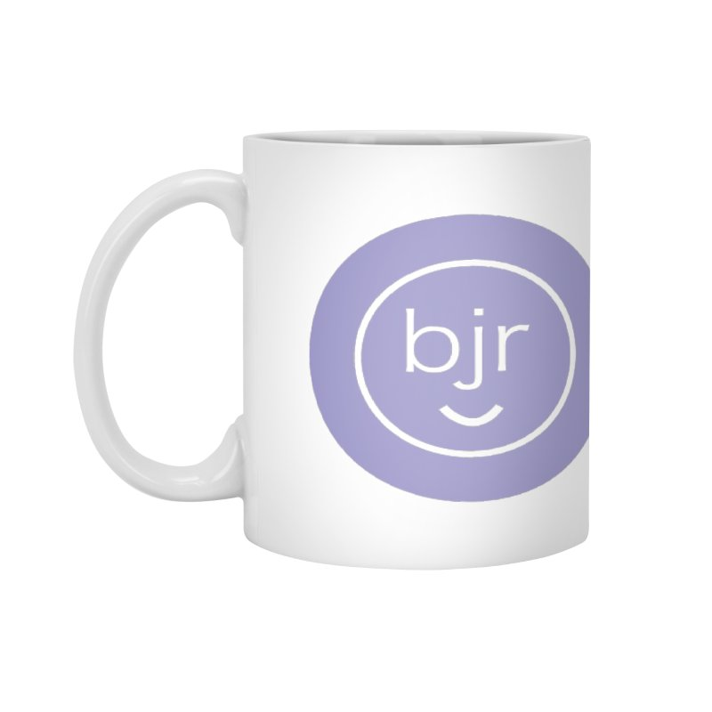 BJR logo Accessories Mug by bornjustright's Artist Shop