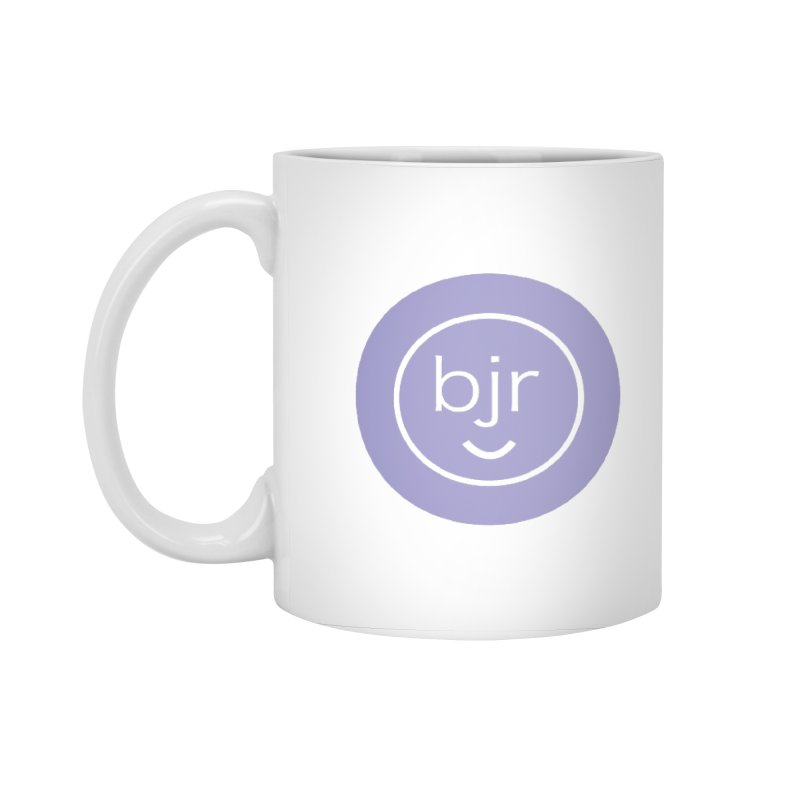 BJR logo Accessories Standard Mug by bornjustright's Artist Shop