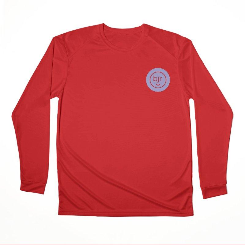BJR logo Men's Performance Longsleeve T-Shirt by bornjustright's Artist Shop