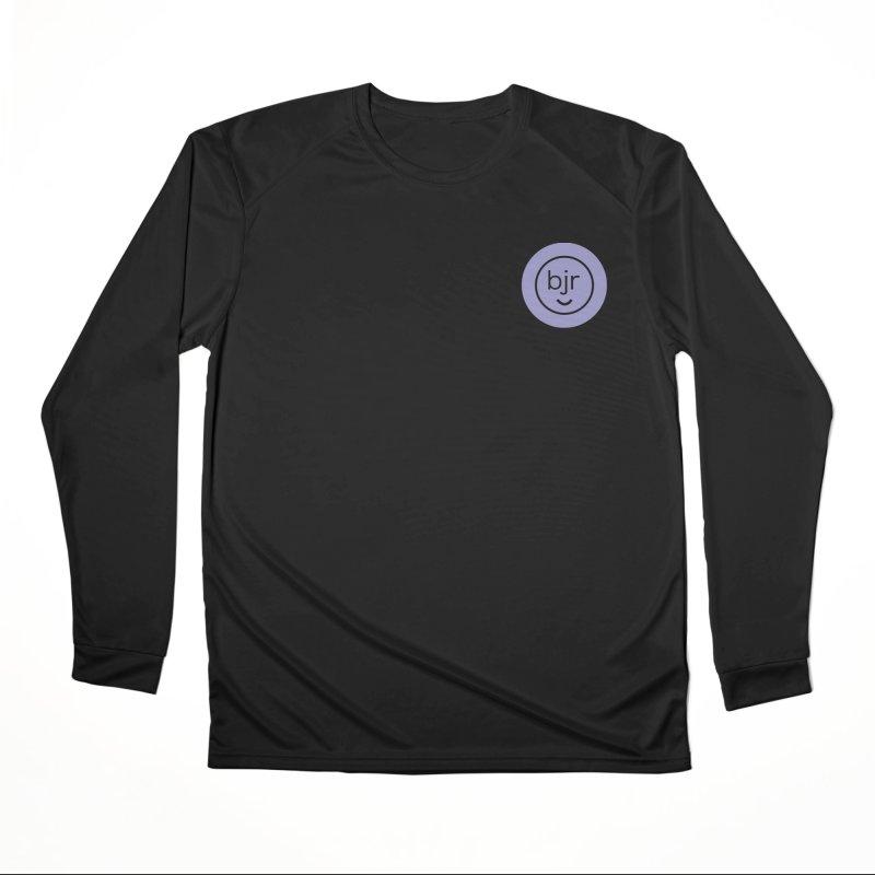 BJR logo Women's Performance Unisex Longsleeve T-Shirt by bornjustright's Artist Shop