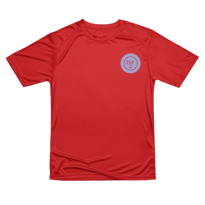 BJR logo Men's Performance T-Shirt by bornjustright's Artist Shop