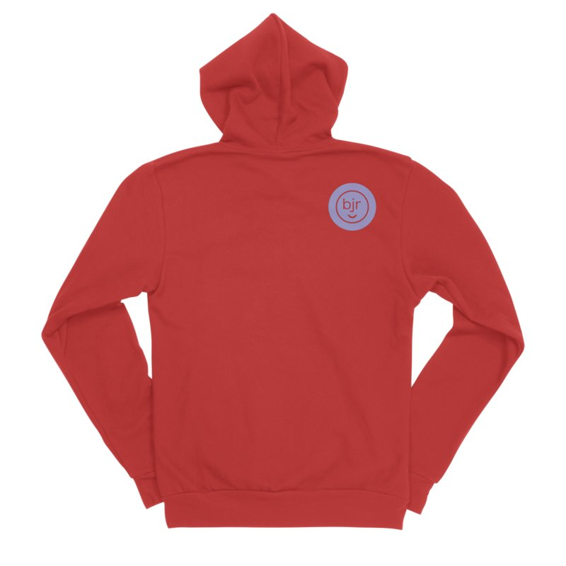 BJR logo Men's Zip-Up Hoody by bornjustright's Artist Shop
