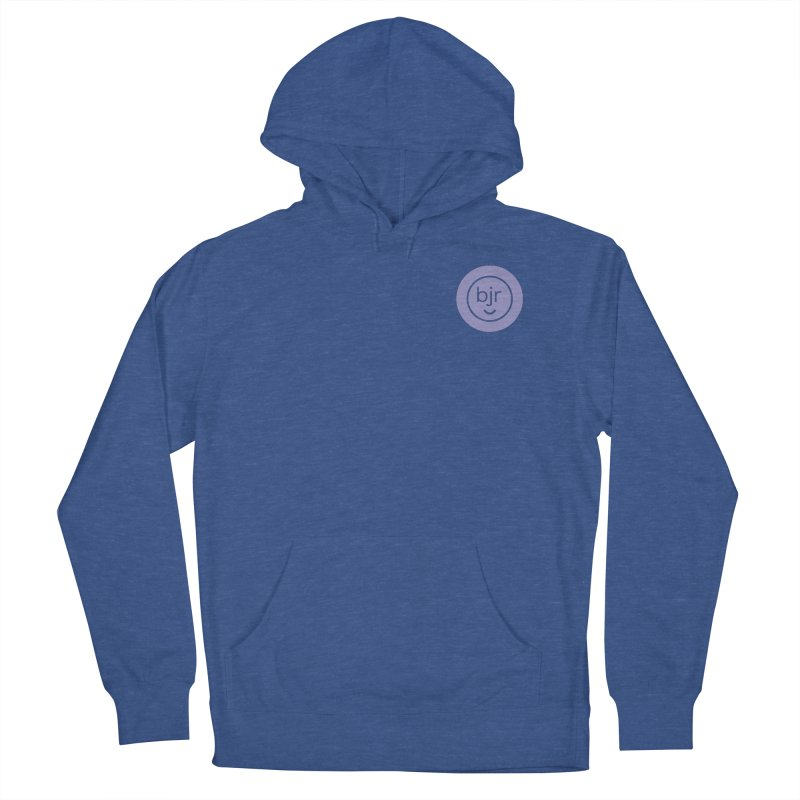 BJR logo Men's French Terry Pullover Hoody by bornjustright's Artist Shop