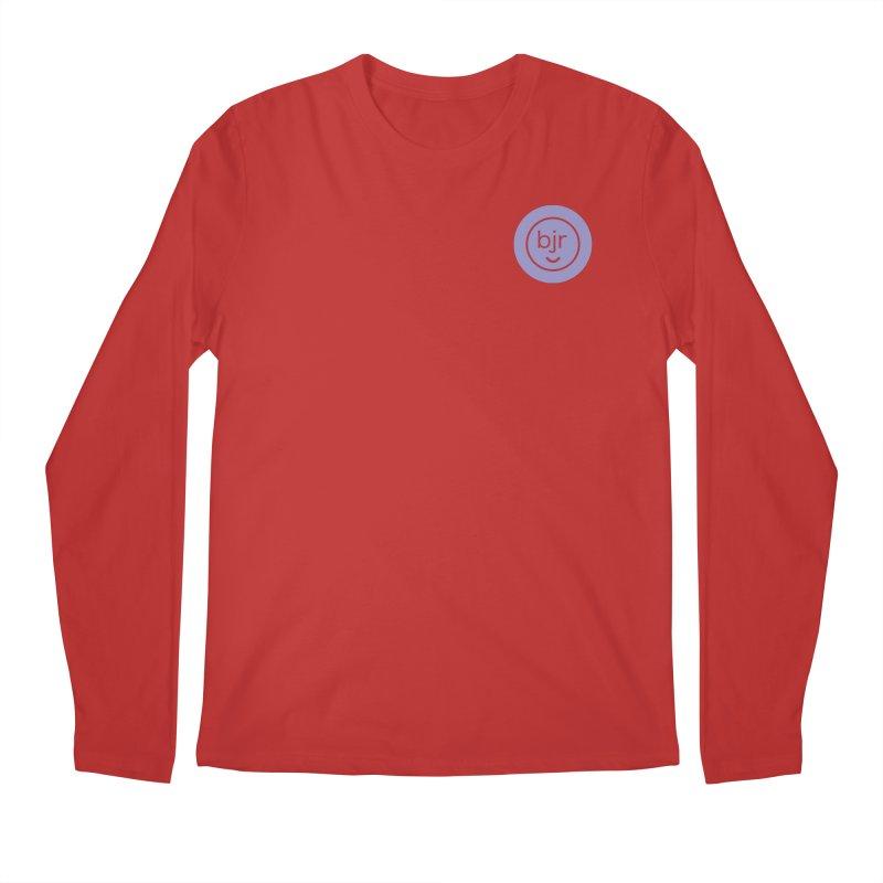 BJR logo Men's Regular Longsleeve T-Shirt by bornjustright's Artist Shop