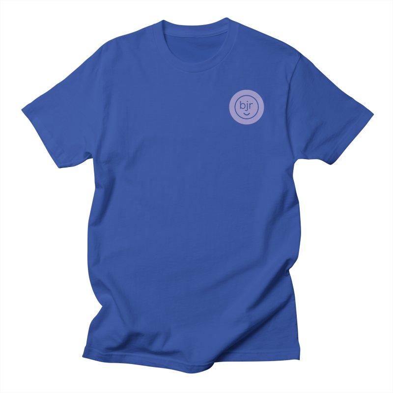 BJR logo Men's Regular T-Shirt by bornjustright's Artist Shop