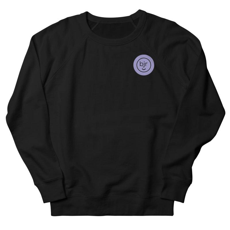BJR logo Women's French Terry Sweatshirt by bornjustright's Artist Shop