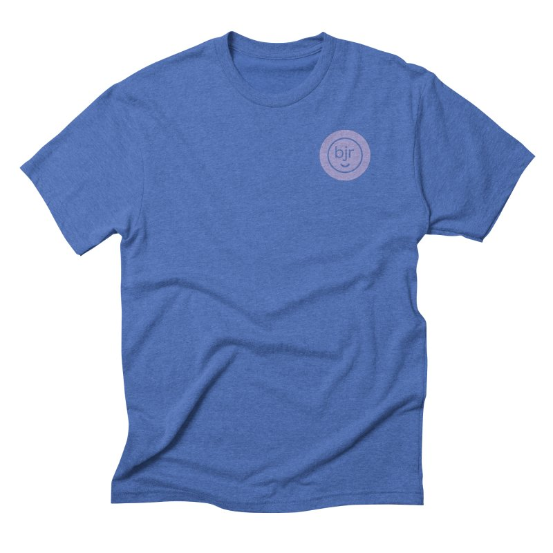BJR logo Men's T-Shirt by bornjustright's Artist Shop