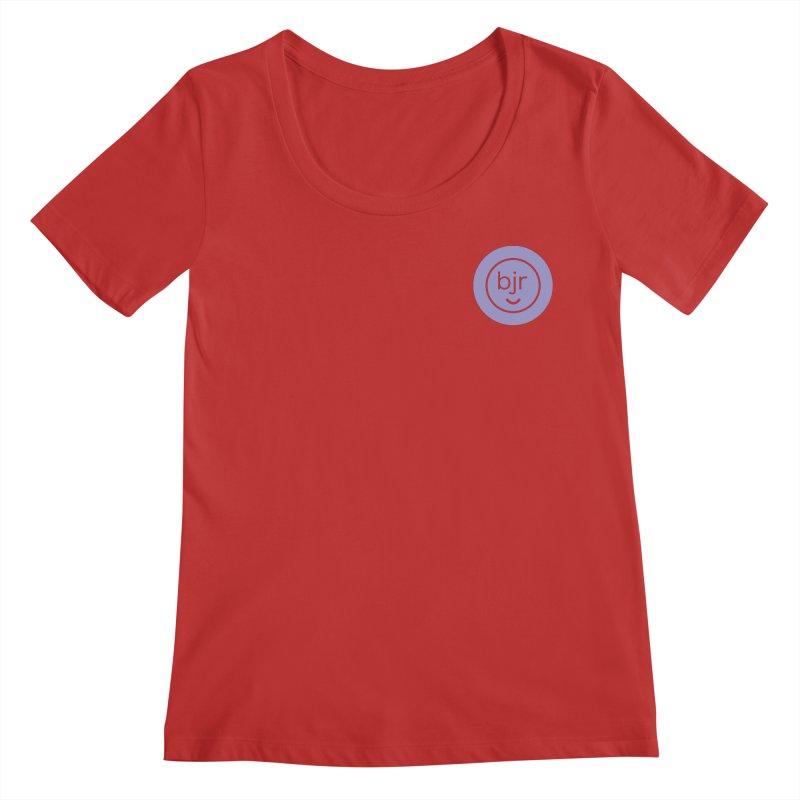 BJR logo Women's Regular Scoop Neck by bornjustright's Artist Shop