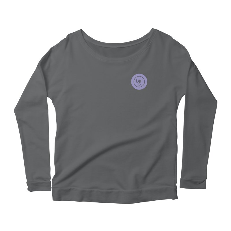BJR logo Women's Longsleeve T-Shirt by bornjustright's Artist Shop