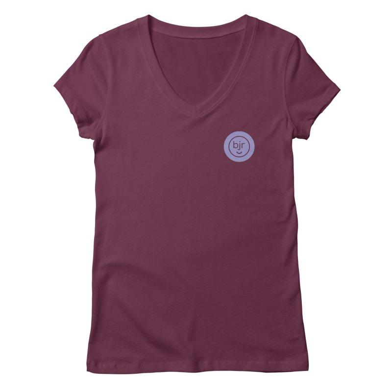 BJR logo Women's Regular V-Neck by bornjustright's Artist Shop